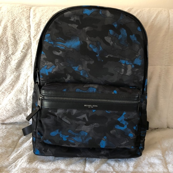 59f4f93dadae1 Michael Kors Camo Kent Backpack